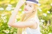 Outdoor summer portrait