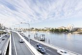 Brisbane City Highway and Southbank