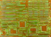 Постер, плакат: Старый электронная схема