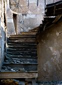 Abandoned Damaged Stairs