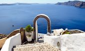Beautiful view of Santorini Island