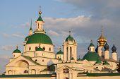 Dimitrievsky Cathedral in Spasso-Yakovlevsky Monastery in Rostov, Russia