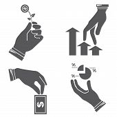 hands, investment concept