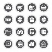 e commerce icons, marketing icons