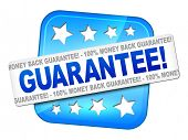 An image of a nice guarantee sign for your website