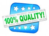 A quality guarantee symbol for your website