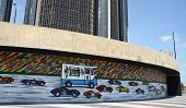 Da Race Detroit! 2014 Mural In Detroit, Mi