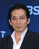 LOS ANGELES - JUN 06:  Hiroyuki Sanada arrives to the 'Extant' Premiere Party  on June 06, 2014 in L