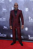 LOS ANGELES - APR 06:  Darius Rucker arrives to the 49th Annual Academy of Country Music Awards   on