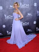 LOS ANGELES - APR 06:  Kellie Pickler arrives to the 49th Annual Academy of Country Music Awards   o
