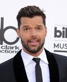 LAS VEGAS - MAY 18:  Ricky Martin arrives to the Billboard Music Awards 2014  on May 18, 2014 in Las