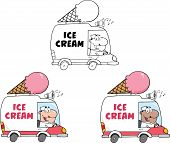 Ice Cream Truck  Collection Set