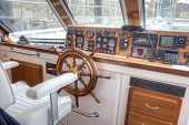 Pleasure Boat Captain's Cabin
