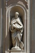 PARMA, ITALY - MAY 01,2014: St Benedict of Nursia, San Giovanni Evangelista is a church in Parma, no