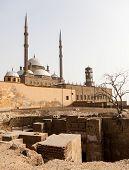 Alabaster Mosque Citadel Cairo Egypt