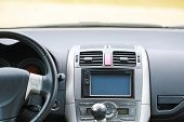 Navigation device in the car