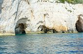 The Blue Caves In Zakynthos (greece)