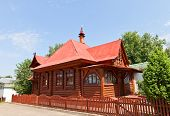 Wooden House In Dmitrov, Russia