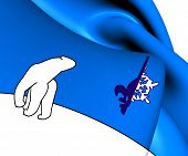 Flag Of Franco-tenois