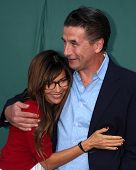 LOS ANGELES - JUL 8:  Vanessa Marcil, Billy Baldwin at the Crown Media Networks July 2014 TCA Party