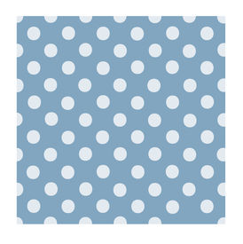stock photo of poka dot  - Lavender blue background with very light blue poka dots all over - JPG