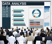Data Analysis Business Team Teamwork Networking Discussion Concept