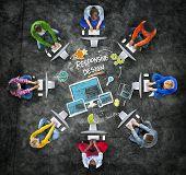 Responsive Design Internet Web Online Technology Computer Concept