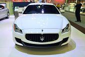 Nonthaburi - December 1: Maserati Quattroporte Car Display At Thailand International Motor Expo On D