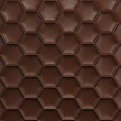 Brown Honeycomb Background