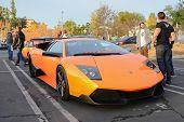 Lamborghini Murcielago On Display