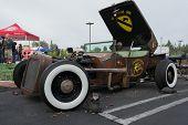 Old Car On Display