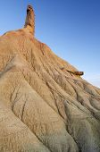 Mountain Known as Castildetierra in Bardenas Reales Nature Park, Navarra, Spain.