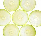 Squash Vegetable Marrow Isolated