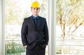 Civil Engineer In A Suit