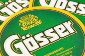 Beermats From Gosser Beer