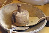 Antique Wooden Kitchen Items