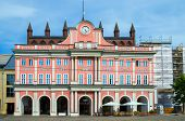 Town Hall. Rostock, Germany