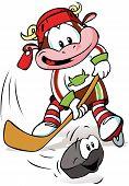 Hockey Mascot