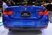 Nonthaburi - December 1: Bmw 420I Convertible Car Display At Thailand International Motor Expo On De