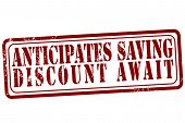Anticipates Saving Discount Await Stamp