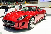 Nonthaburi - December 1: Jaguar F-type Car Display At Thailand International Motor Expo On December