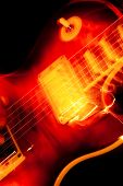 Electric Guitar Blur