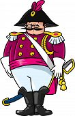 Fat General Or Officer