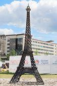 Parody Of Metal Eiffel Tower