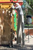 Perm, Russia - Jun, 23, 2014: Puppet Shows In Gorky Park