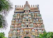picture of trichy  - Jambukeswarar temple is world heritage in Southern India - JPG