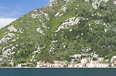 The Bay Of Kotor View In Spring