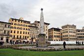 The Piazza Of Santa Maria Novella