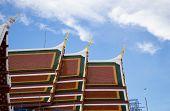 Roof Thai Temple