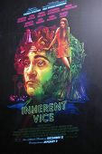 LOS ANGELES - DEC 10:  Inherent Vice Poster at the